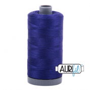 Aurifil 28 Cotton Thread - 1200 (Deep Purple/Blue)